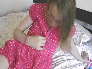 T Girl Slowly Undresses...