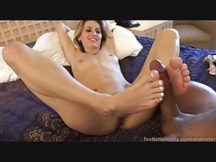 Natasha Has Her Feet...
