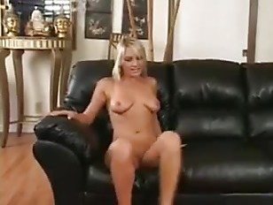 Sexy Tight Blonde Gets Pussy Creamed
