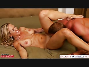 Picture Busty Blonde Mom Brandi Love Suck And Fuck C...