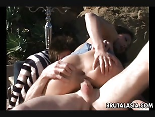 Anal fuck and the smooth asian slut gets blasted
