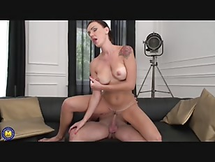 Picture Brunette MILF Nailed By A Younger Guy