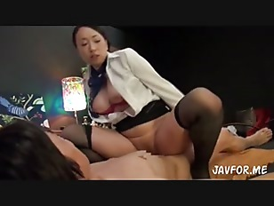Picture Hot Japanese Beauty Rides His Lucky Cock