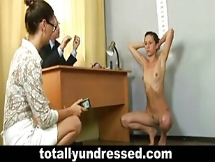 Picture 22 Y.o. Sasha During Humiliating Nude Job In...