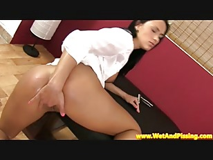 Picture Piss Fetish Slut Masturbates With Dildo