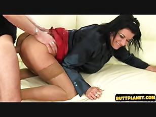 Brunette Lady Fucked Hard...