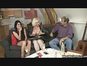 Picture 69 With His Mom And Riding Old Dads Cock