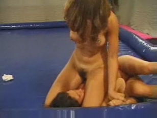 Nude Female Wrestling...