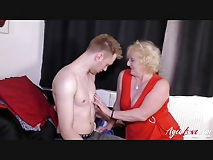 AgedLovE Blonde Mature an...