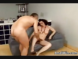Picture Hairy GILF Pounded In The Ass
