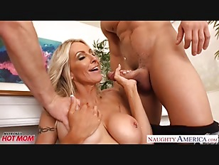 Picture Busty Mom Emma Starr Suck And Fuck Two Cocks...