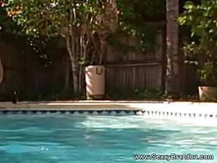 Picture Brandon Having Fun In The Pool