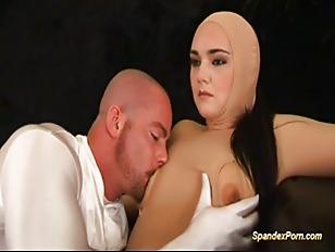 Busty Girl Anal Spandex...