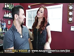 Picture Karlie Montana Is A Small Tit Redhead That G...