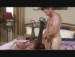 hot blonde blowjob