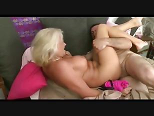 Blonde Granny -Breakfast In...