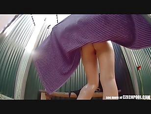BUSTY GIRL Wearing Swimsuit...