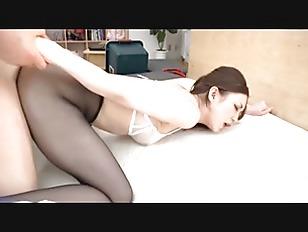 asian stocking hottie ass fucked