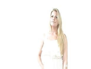Picture Blonde Calendar Model Audition - Netvideogir...
