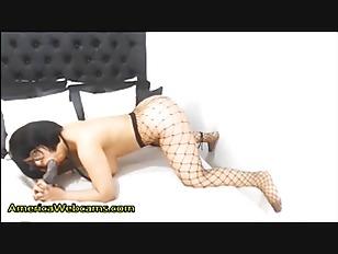 Big Ass Brunette Enjoys Big Dick