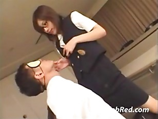 Hot Asian Teases Her...