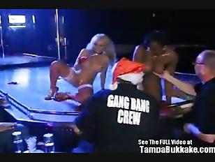Jasmine tame strip club gang bang party 1