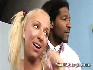 Very Naughty Blonde teen...
