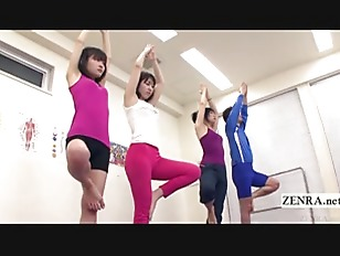 Subtitled Japanese Yoga Stretching...