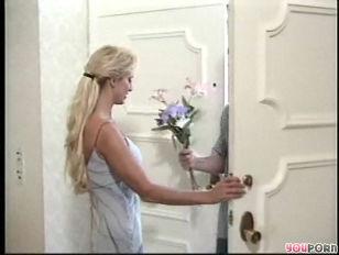 Naughty Blonde Takes Anal...