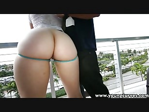 TeenCurves curvy ass brunette spanked banged and facialized