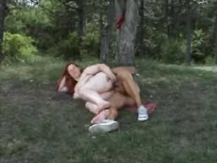 Picture Chubby Redhead Outdoor