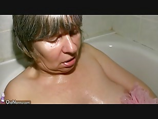 Picture Hot Horny Spectacled Granny And Young Guy Fu...