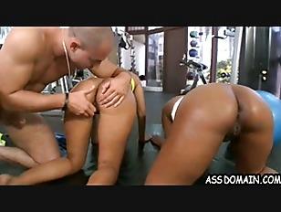 Gym Ass Pounding! Jessica...