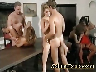 Classic Orgy Party...