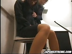 Picture Extreme Asian Office Bang