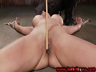 Picture Tied Up Restrained Bdsm Girl Whipped By Her...