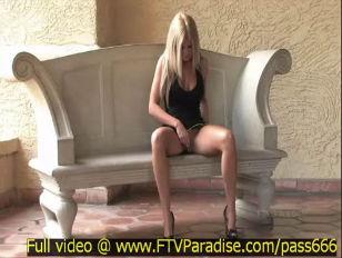 Picture Sexy Blonde Masturbating