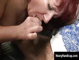 Picture Hairy Cripples Dick Gets Lucky With Horny Re...