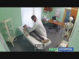 Picture FakeHospital Gorgeous English Patient Scream...