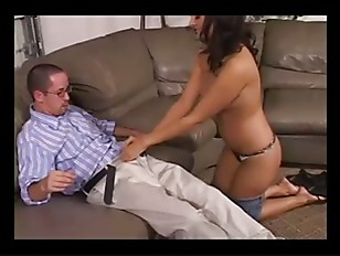 Picture Nice Brunette Ride Hard Cock