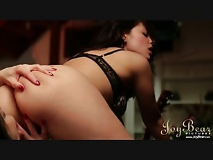 free romantic lesbian porn threesome sex in bed