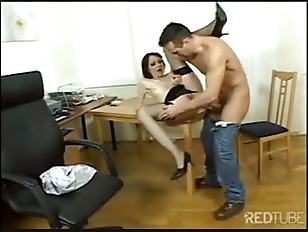 Picture Office Deepthroat And Ass