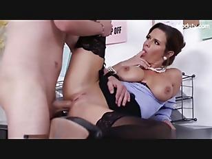 Nice Secretary Gets Fucked...
