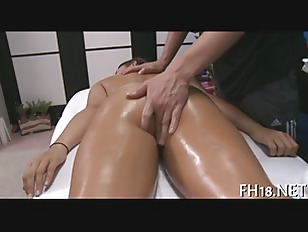 Slippery And Sensual Massage