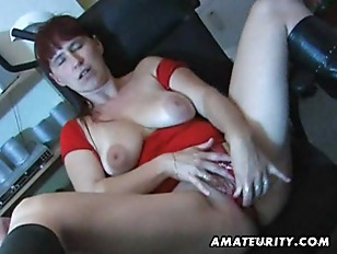 Picture Nasty Mature Amateur Wife Toys Sucks And Fuc...