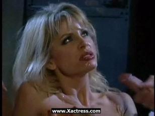 Horny Blonde Tiffany DP...