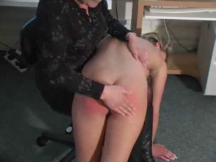 Picture Blonde Being Stripped And Spanked