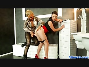 did restrained d blonde sucks cock and gets fucked remarkable, rather
