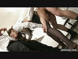Picture Asian Slut Gets Fucked In The Office