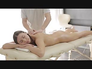 Relaxed Lesya Enjoys The...
